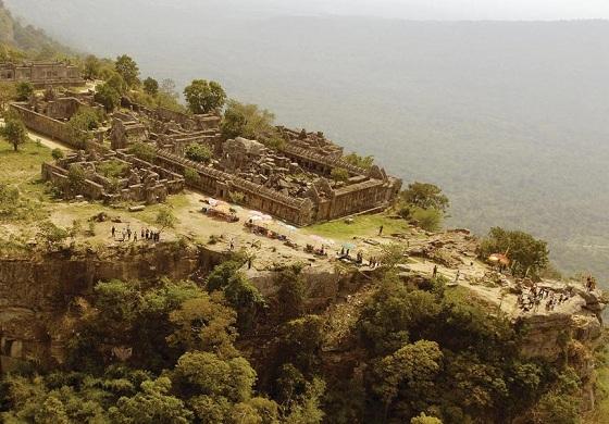 La monte di Preah Vihear