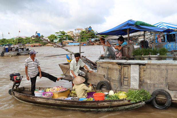 Cai Rang Floating market